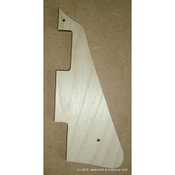 LP pickguard template, 1959 shape