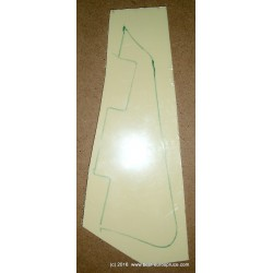 LP Pickguard material, ABS