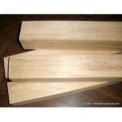 Korina double-neck blank