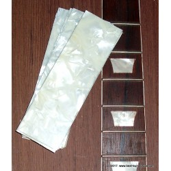 Pearloid sheet for inlays
