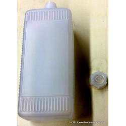 PE-Flasche, 1000ml, leer, mit Schraubverschluss
