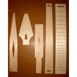 1958V body template set