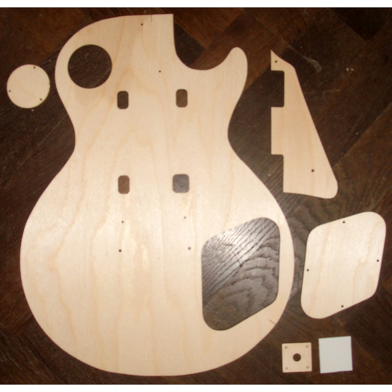 1959 Les Paul BODY routing template set