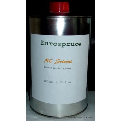 NC Solvent, 1000ml (33.8 fl. oz), vintage-style,