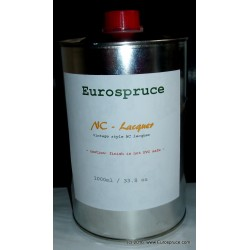 NC Lacquer, 1000ml (33.8 fl. oz), high gloss, vintage-style,