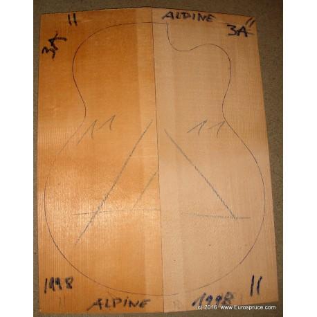 ALPINE spruce, MASTER grade, 17´´, 1998
