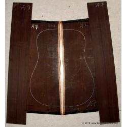 African Blackwood, Jumbo-Größe. Satz A3