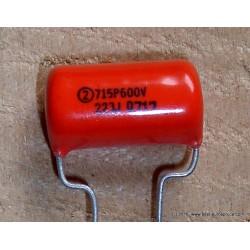 Sprague ORANGE DROP Capacitor, 0.022uF