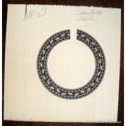 Soundhole Patch, no. 3