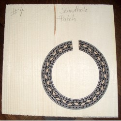 Soundhole Patch, no. 4