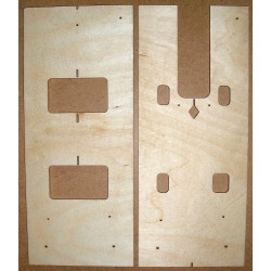 LP tenon+pup routing template, 1959 vintage